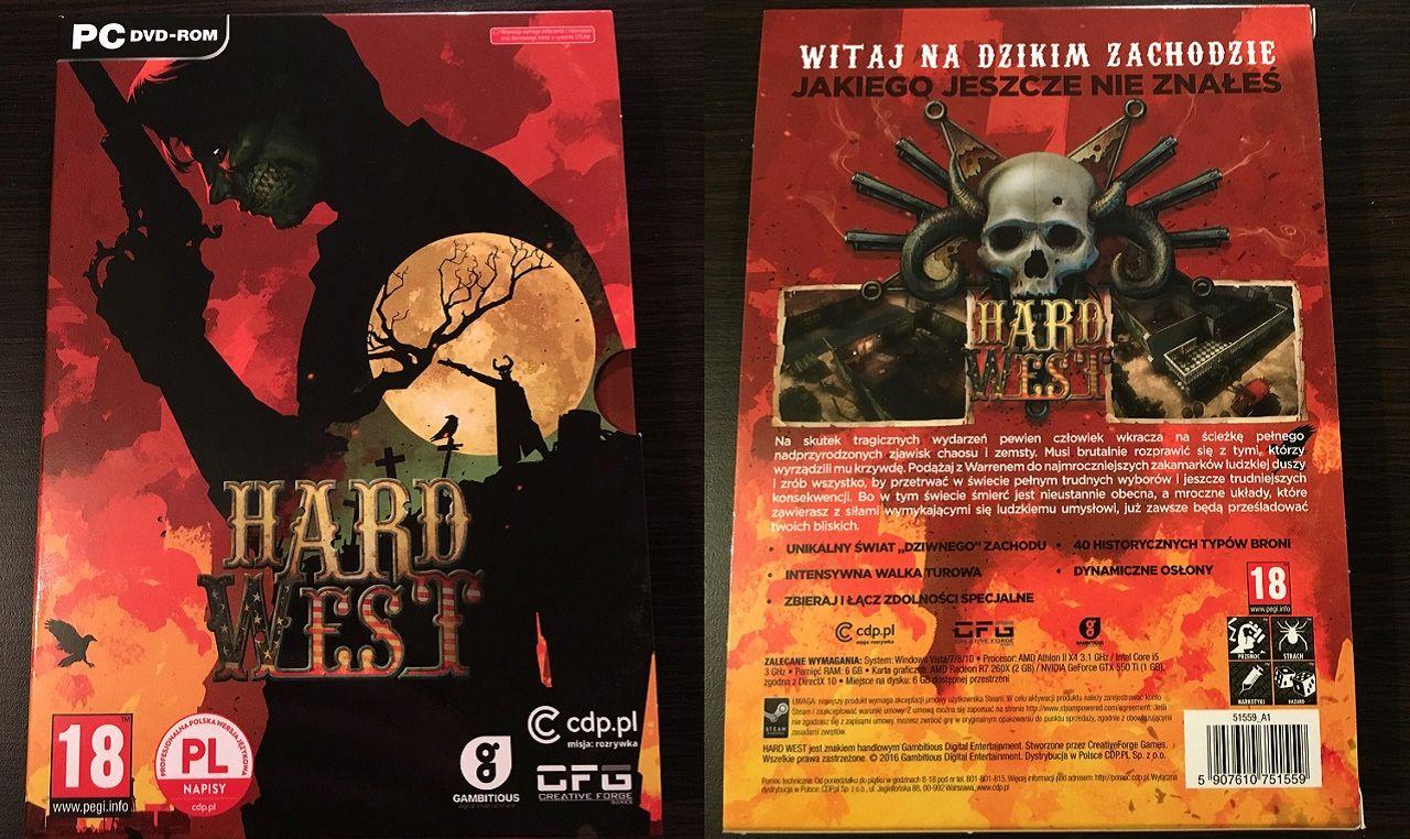 Hard West Edycja Kolekcjonerska - okładka