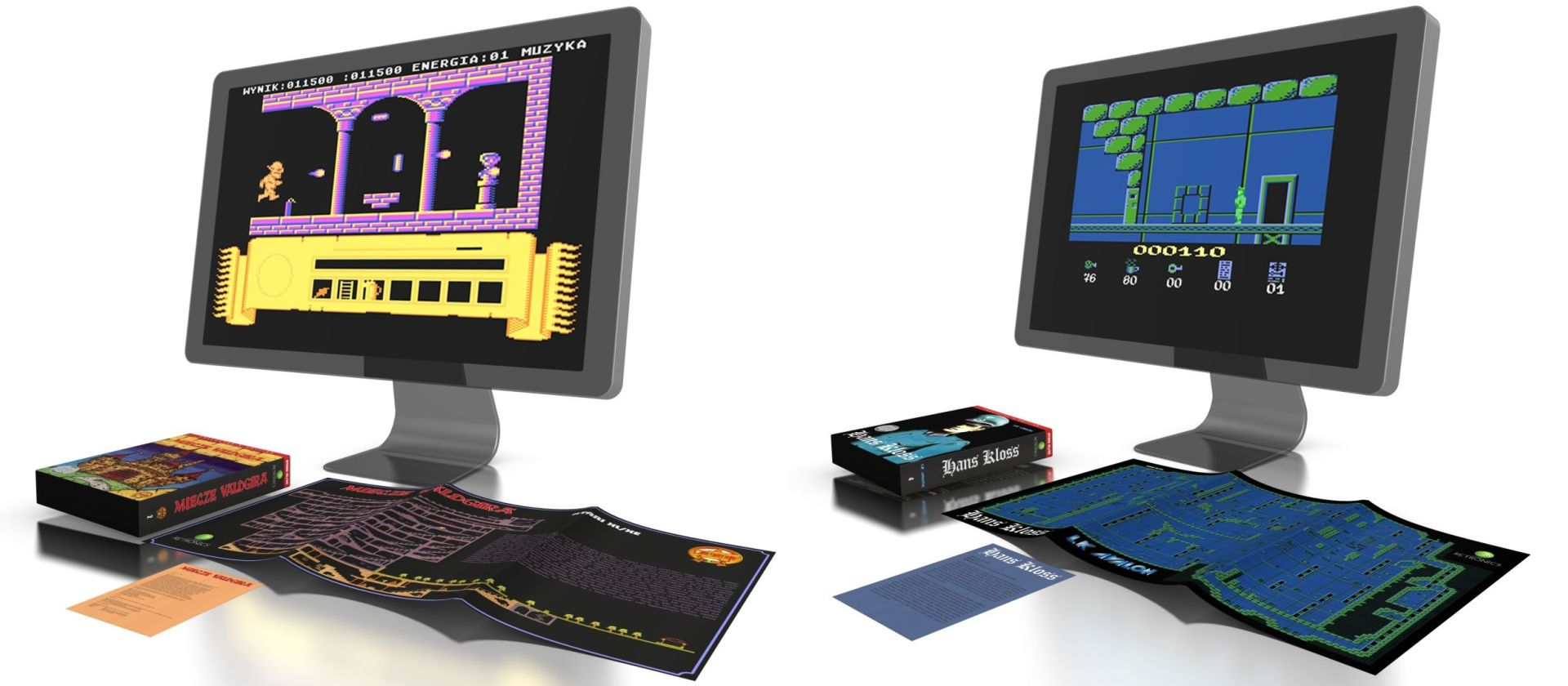 Atari XL XE Collector's Edition - zawartość