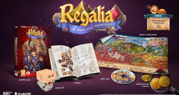 Regalia Of Men and Monarchs - okładka