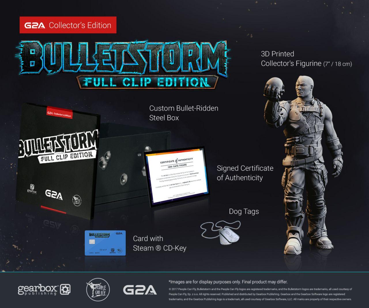 Znalezione obrazy dla zapytania bulletstorm full clip edition edycja limitowana