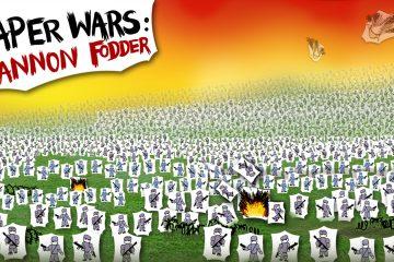 recenzja Paper Wars: Cannon Fodder