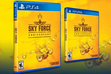 Sky Force Anniversary pudełko