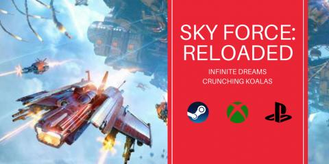 sky force reloaded poradnik do osiągnięć