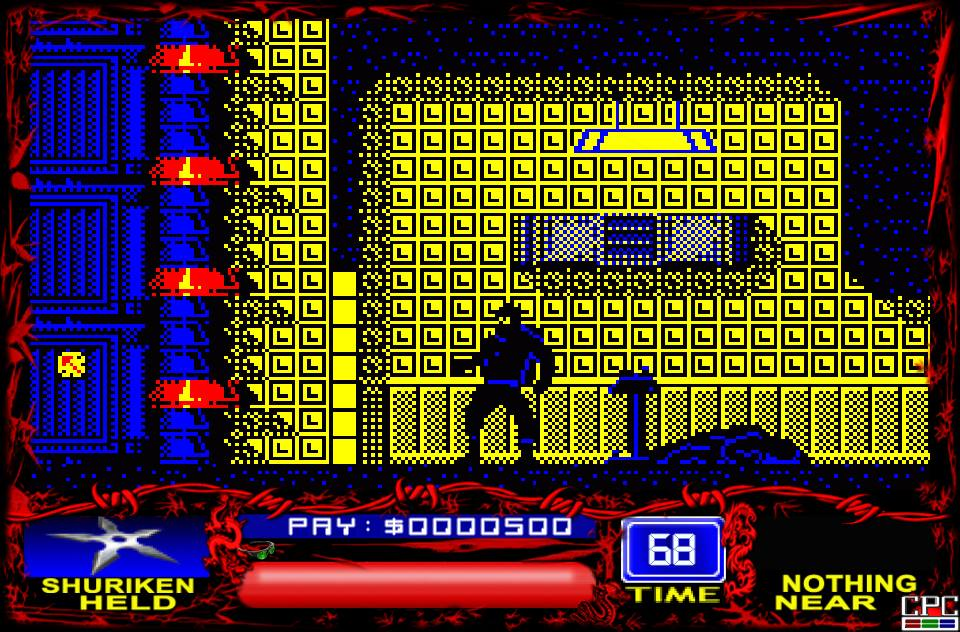 Saboteur! Switch - Amstrad CPC