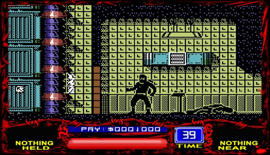 Saboteur! Switch - Commodore 64