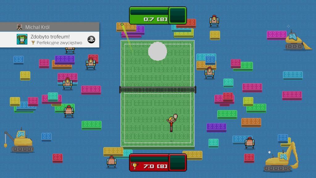 osiągnięcie Perfekcyjne zwycięstwo / Flawless Victory timber tennis versus