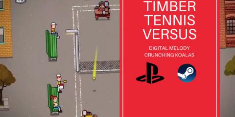 Timber Tennis Versus poradnik do osiągnięć