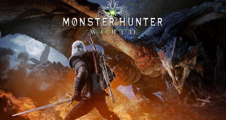 Monster Hunter: Wolrd x Witcher 3