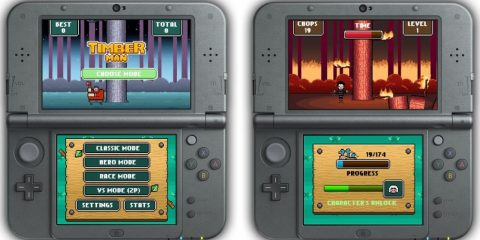 Timberman 3DS
