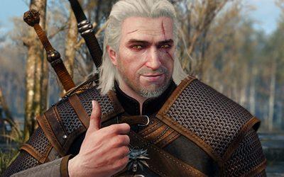 Wiedźmin 3 Geralt